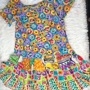 Jams World floral fruit dress